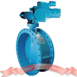Electric Double Eccentric Butterfly Valve Welco Valve