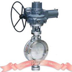 Motorized Butterfly Valve Triple Offset Welco Valve