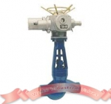 Motorized high pressure globe valve