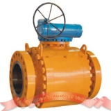 Metal seated forged steel ball valve