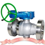 Reduced bore CF8M 1500LB cast steel ball valve