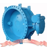 Soft seal cast iron butterfly valve
