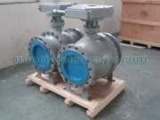 Ball valve, 2-pc trunnion mounted