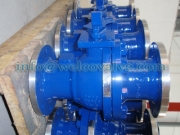 Ball valve, split body floating ball bareshaft